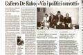 il Capo della DDA di Napoli Federico Cafiero de Raho  al liceo Manzoni
