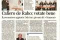 il presidente della consulta degli studenti  al procuratore Cafiero de Raho
