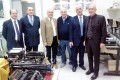 Il sottosegretario alla Difesa Gioacchino Alfano visita il Museo Olivetti