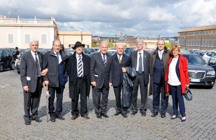 Delegazione Cesaf Guidata dal Gen. Franco Angioni
