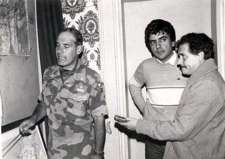 Beirut 1983 Generale Franco Angioni